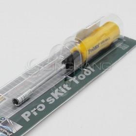 Pro'sKit 寶工 19400-M5.5 黃黑軟柄套筒起子