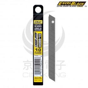 日本 OLFA小型超銳黑刃美工刀片 ASBB-10 大盒 120片