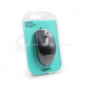 羅技 M100r 有線光學滑鼠 黑色 USB