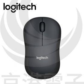 Logitech 羅技 M221 無線靜音滑鼠-黑色