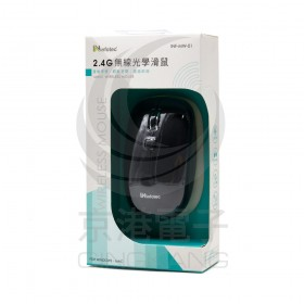2.4G無線光學滑鼠-黑色 INF-MW-01
