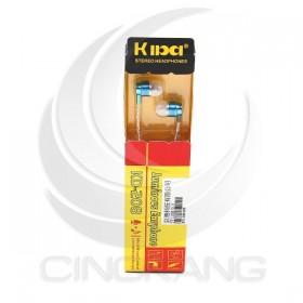 KD-208 入耳式耳機 -藍色