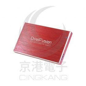 伽利略HD-325U3S(紅)USB3.0 2.5 鋁合金外接盒