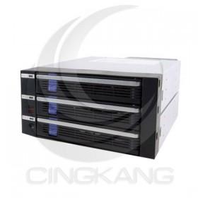 3.5吋SATA2內接式磁碟陣列抽取盒 (ICYDOCK-MB453SPF-B)