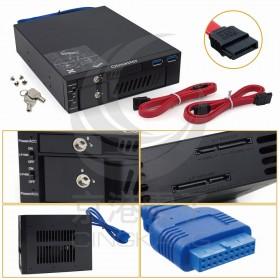 MR-6203 2.5吋 3.5吋SATA雙重抽取盒