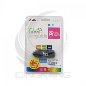 SD/SDHC隨身卡姆碟/1支 CARD-Y003A (黑)