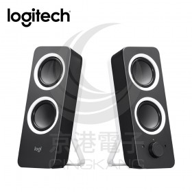 Logitech 羅技 Z200多媒體揚聲器 黑色