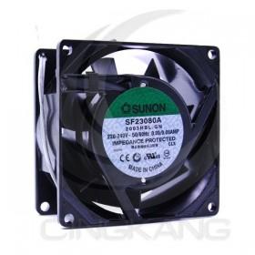 80*80*38 220V SUNON建準散熱風扇 SF23080A 2083HBL