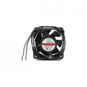 60X60X25mm AC110V~220V (GC6025HBL)  塑膠框塑膠葉滾珠風扇