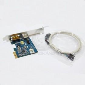 e-SATA+U2.0 PCI-e卡(W-3531E) 擴充卡