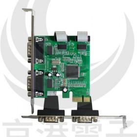 伽利略 PETR04A 4埠 PCI-E RS232擴充卡(4埠)