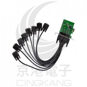 伽俐略 PCI-E-RS232 8埠擴充卡 PETR08A