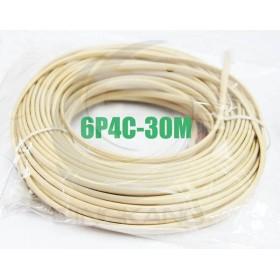 6P4C 雙頭 30M 電話線(6P4C-30M)