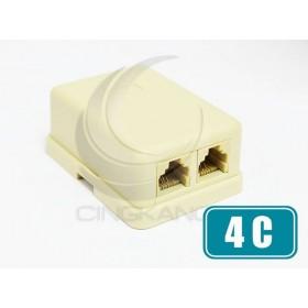 4C 雙孔接線盒 (MB-4C-2)