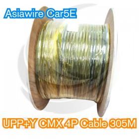 【不可超取】Asiawire Cat5E UPP+Y CMX 4P Cable(戶外)305M/軸