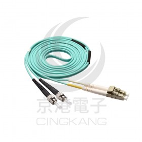 光纖線 OM3 ST/DLC 3M
