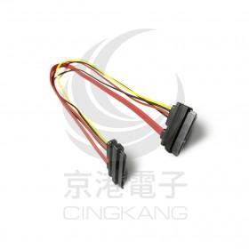 SATA排線+SATA電源延長線(母-母)40公分
