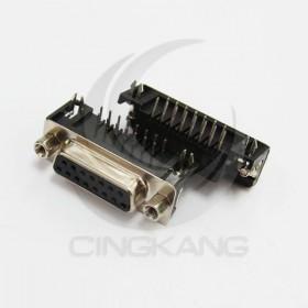 插板式 DR-15 母 15P 90度彎角(5個/入)