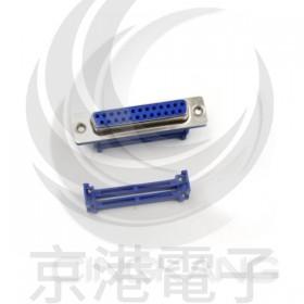 D型接頭 壓排式 IDC-25P母 25P 附螺絲 (5個/入)