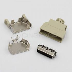 36P公 塑膠殼 SCSI 連接器