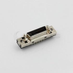 26P SCSI 鐵殼母座插板180度
