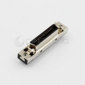 36P SCSI 鐵殼母座插板180度