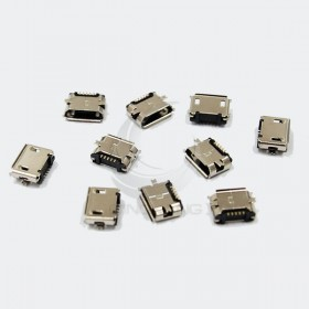 Micro USB母座 5腳 SMD型 (10入)