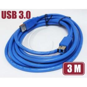 USB 3.0 A公-B公高速傳輸線 3M(UB-228)