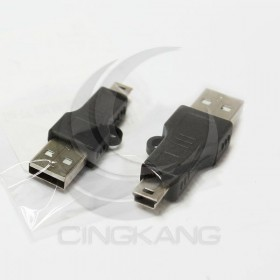 USG-12 USB2.0 A公-MINI 5P公轉接頭