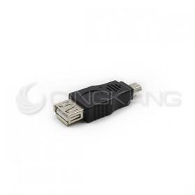 USB2.0 A母-MINI 5P公轉接頭