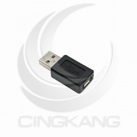 USB2.0 A公-Micro B母轉接頭 (USG-19)