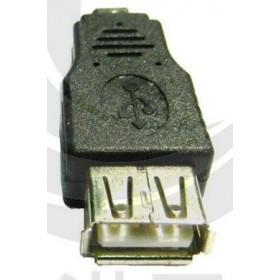 USB2.0 A母-Micro B公OTG轉接頭 (USG-21)