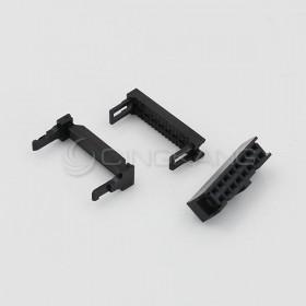 FC-16P間距2.54mm  IDC壓線頭3件(50組)