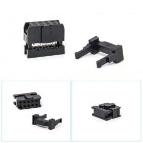 FC-8P間距2.54mm IDC壓線頭3件(50組)