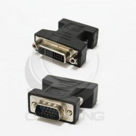 HDG-2  DVI-I 29母-VGA15公轉接頭