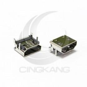HDMI 連接母座SMD 180度