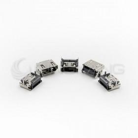 HDMI 連接母座SMD 180度 (5PCS/入)