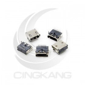 HDMI 連接母DIP 90度腳位 (5PCS/入)