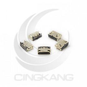 Mini HDMI 連接母座(鍍金) SMD 180度腳位 連接器(5PCS/包)