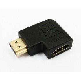 HDG-19 HDMI 公-母 側面 90度 轉接頭  轉接頭 平行 90度 GC-86
