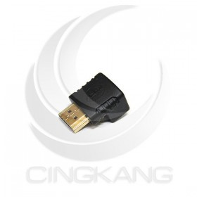 HDMI 270度轉接頭 公對母 hdmi 彎頭轉換頭1.4版
