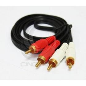4P AV端子RCA訊號線 1.2M(VD-27)