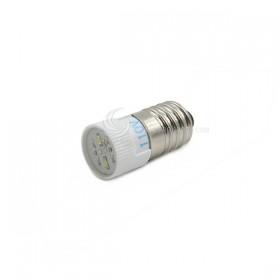 E10 高亮度 多點式 LED 110V 白色