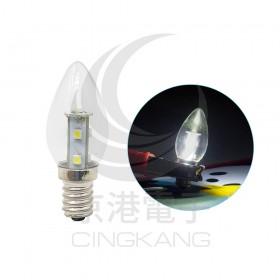 E12頭 0.7W*7 LED SMD 白光 AC110V