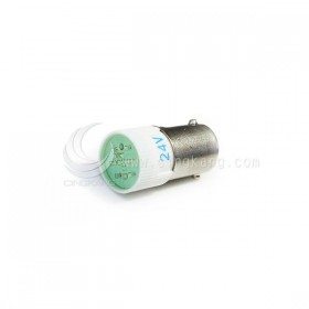 BA9S LED燈 24V- 綠色