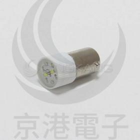 BA9S LED燈 110V- 白色 (插端)
