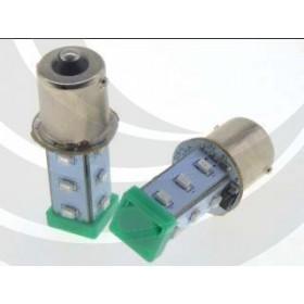 S15-L57G BA15S LED指示燈泡(AC/DC24V) 10W 綠色 O50mm