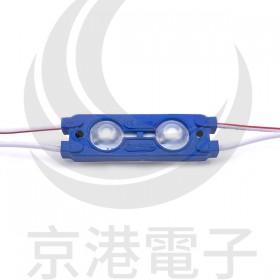 5630 LED魚眼 2燈長方形模組(藍光) DC12V 50~55流明