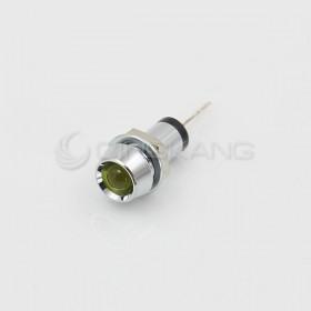 3V 黃色 LED指示燈(中) 牙8mm