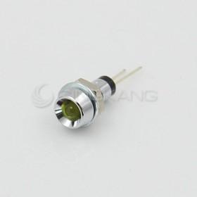 3V 黃色 LED指示燈(小) 牙6mm
